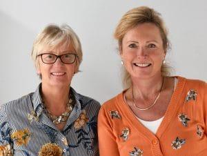Cursusleiders Betty Guns & Tineke Visser